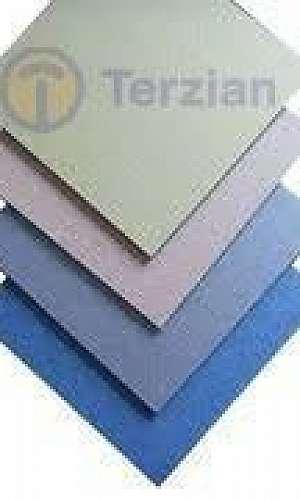 Chapa de ACM alumínio
