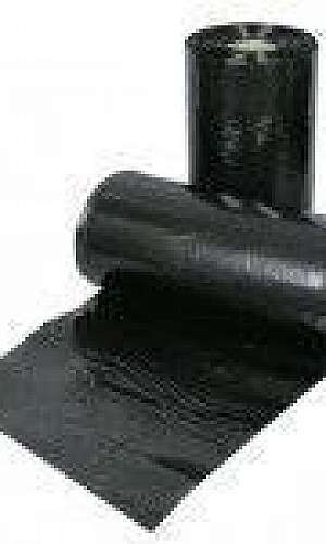 Lona plástica preta 4x100